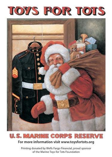 Toys For Tots Certificate : Usmc reserve toys for tots toy drive deer springs winery